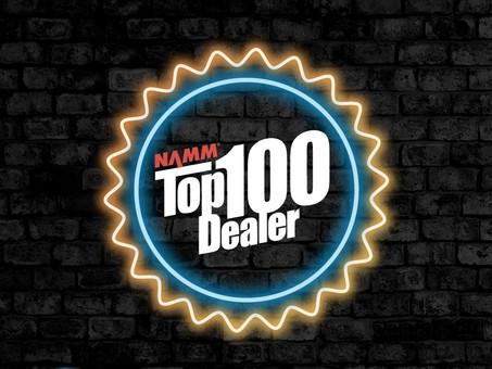 "IMC Nationally Recognized as ""Top 100 NAMM Dealer 2020"""