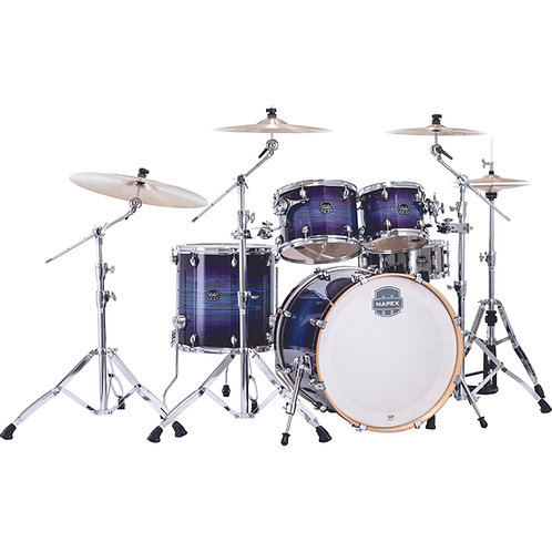 Night Sky Burst Armory 5-Piece Rock Drum Set