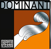 dominant violin viola strings