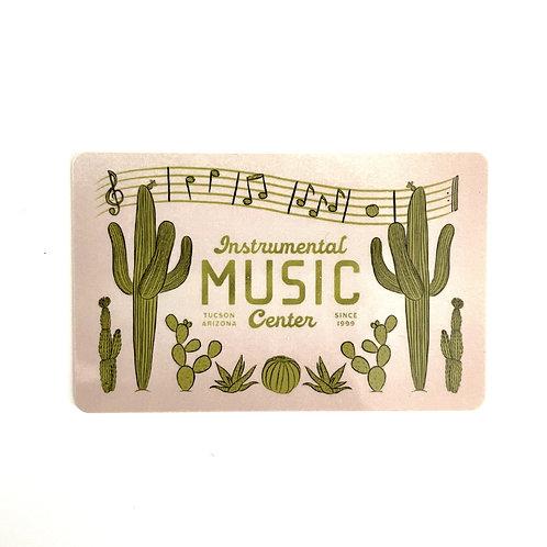 IMC Desert Gift Card