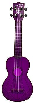 Waterman KA-SWF-PL Purple Ukulele