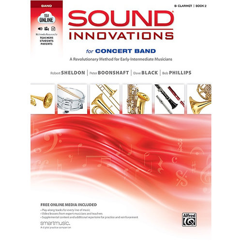 Sound Innovations For Concert Band - Woodwind Bk 2