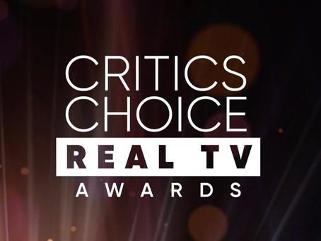 HBO recibe 8 nominaciones en los Critics Choice Real TV Awards
