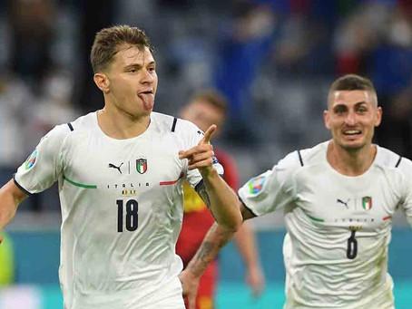 Italia y España se miden en semifinales de la Eurocopa por TNT SPORTS