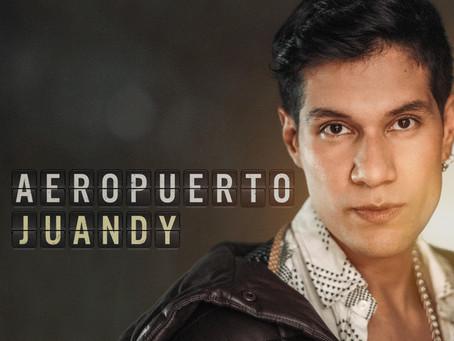 """El artista colombiano Juandy debuta en el género pop con su nuevo sencillo """"Aeropuerto"""""""