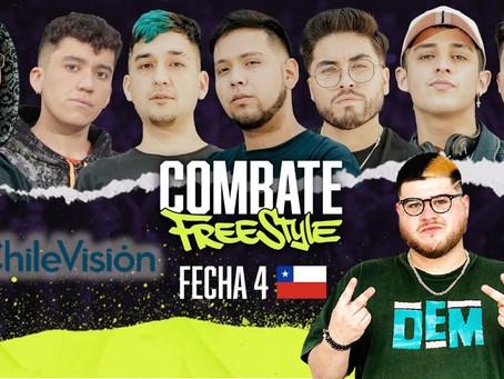 Hoy es el gran día, Combate Freestyle se toma Chile con rimas, ingenio y rapidez mental