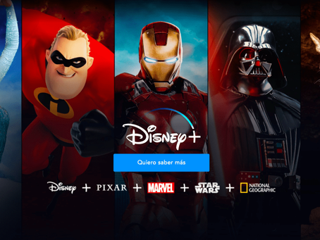 Disney Plus finalmente llega  a Latinoamérica