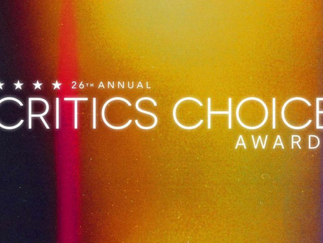 La 26ª edición de los Critics Choice Awards® llegan a través de TNT y TNT SERIES
