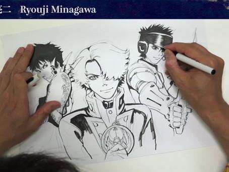 El manga Kaiō Dante de Ryōji Minagawa y Fukurō Izumi terminará en agosto