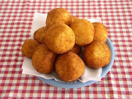 Cocinando a la Italiana, Arancini y Risotto ai gamberoni