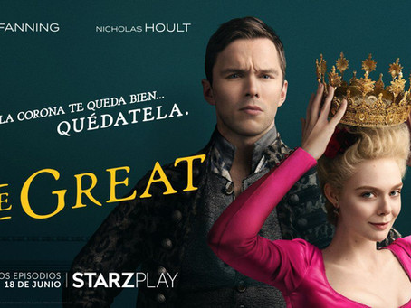 Finalmente tenemos la fecha de lanzamiento de The Great con Elle Fanning y Nicholas Hoult