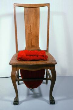 Kiss Ass Chair (front view)