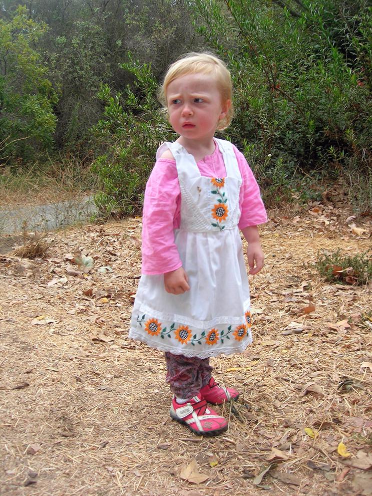 Bea in a Folk Dress