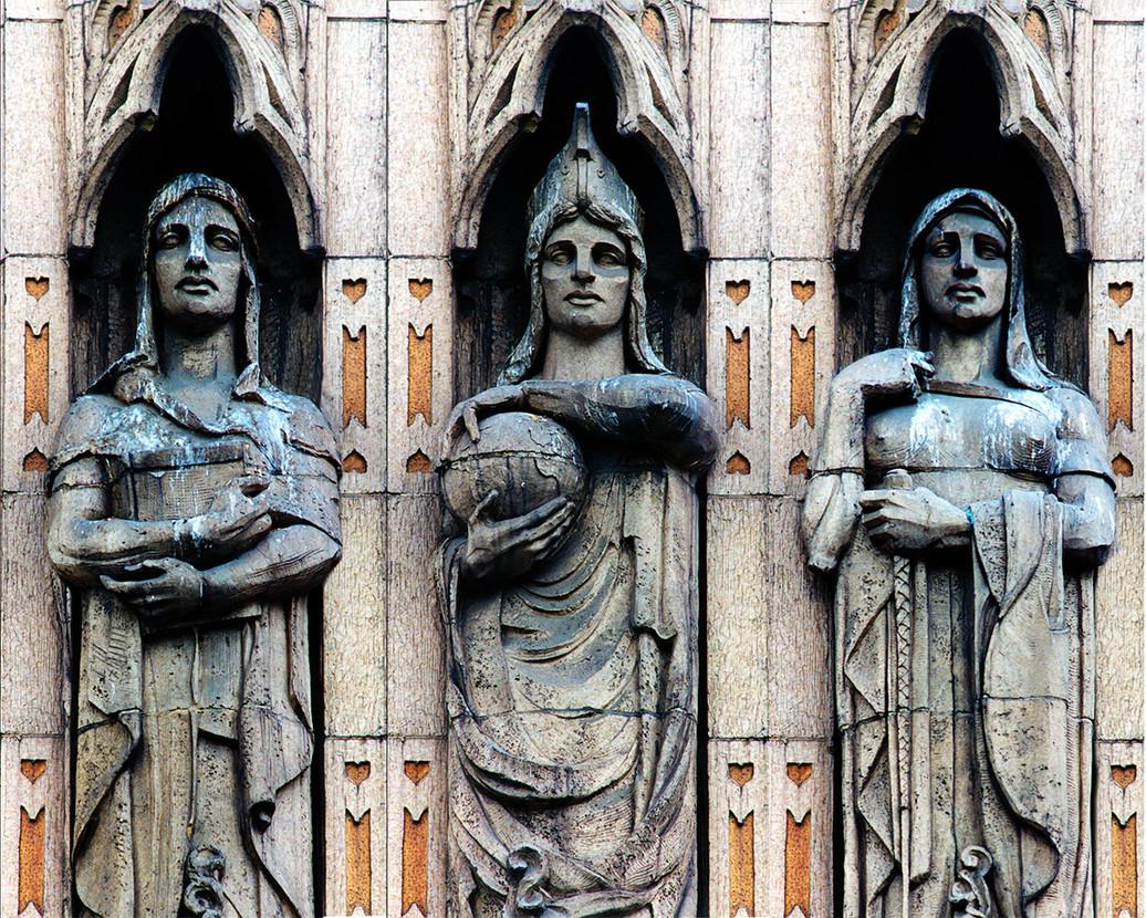 Three Fates Panel