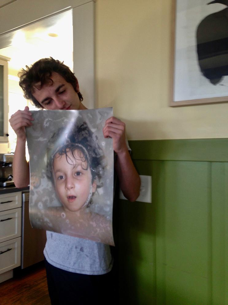 Daniel with His Portrait