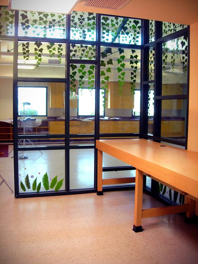 Evergreen classroom view