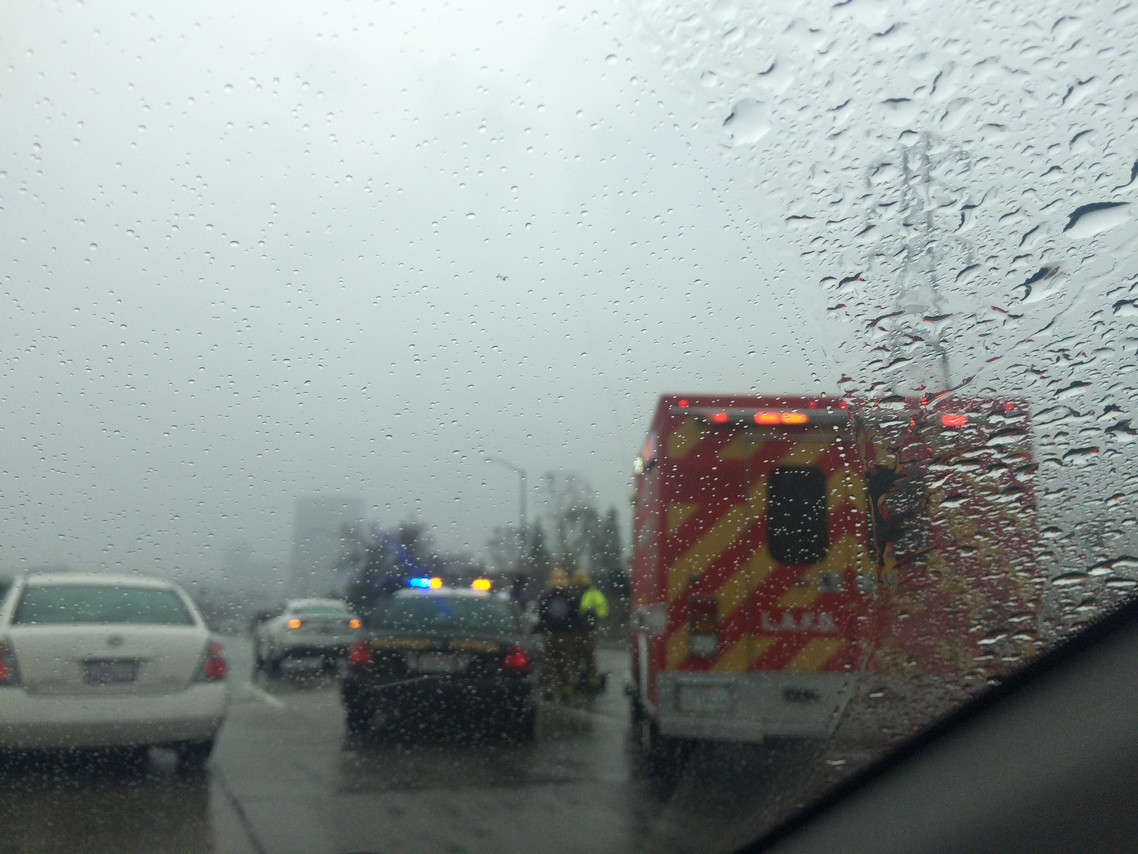 Accident on the 5 fwy