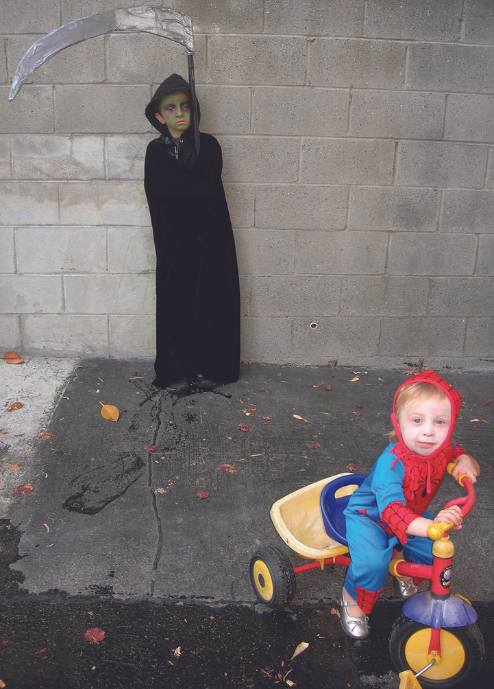 Grim Reeper and Spiderman