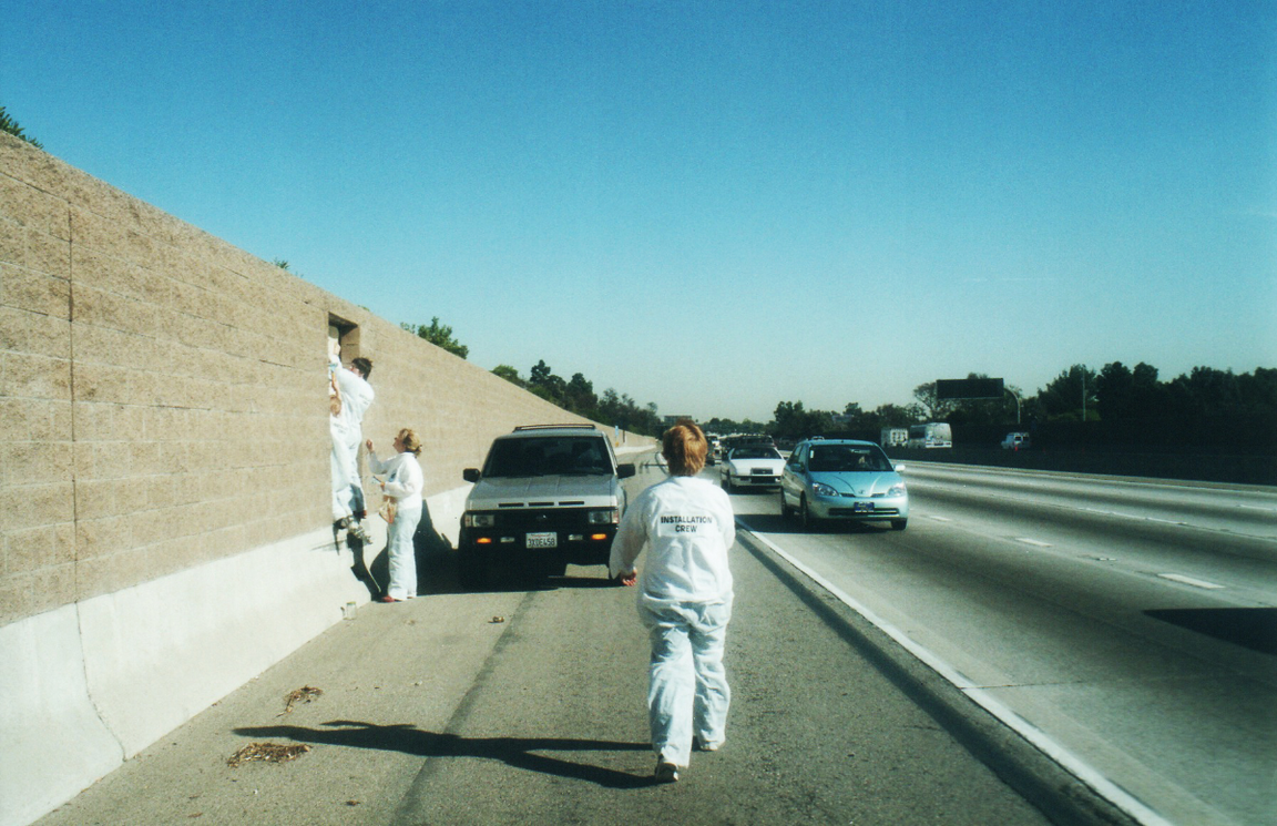 installing on the 10 fwy