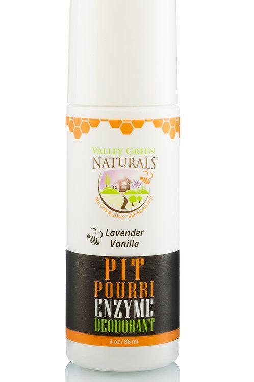 Pit Pourri Enzyme Deodorant - Lavender Vanilla