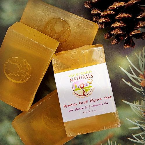 Soap - Mountain Forest Glycerin