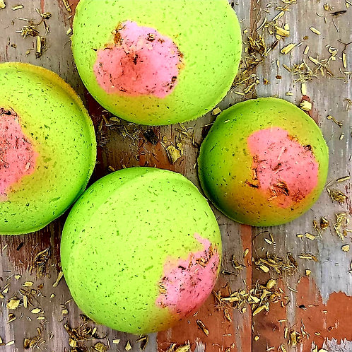 The Lime in the Coconut Bath & Shower Bombs
