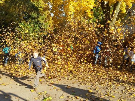 Herbstspaß in der OGS