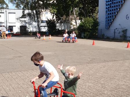 Jede Menge Spaß auf drei Rädern