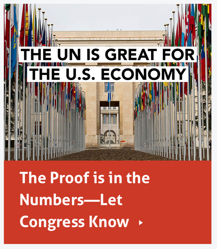 The UN is Great for the US Economy