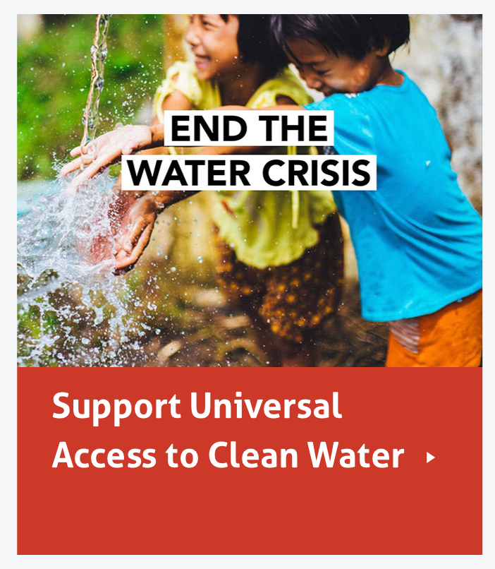 End the Water Crisis