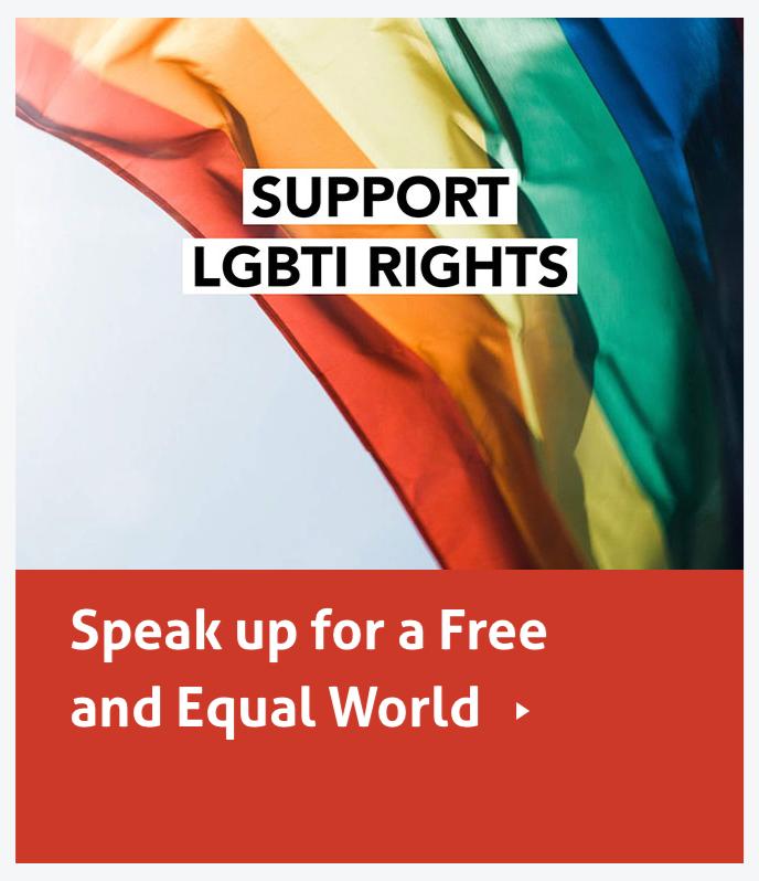 Support LGBTI Rights