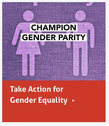 Champion gender parity