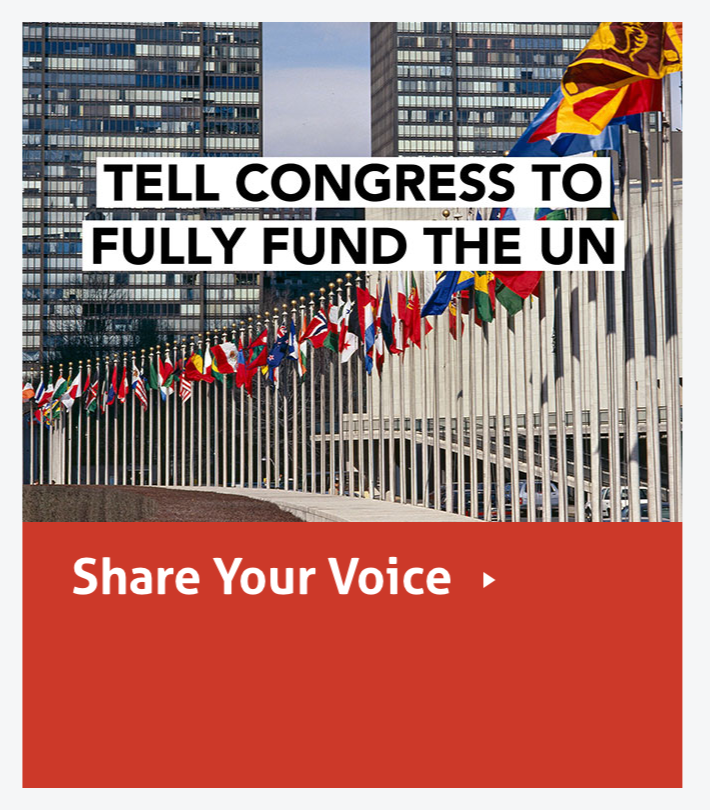 Fully Fund the UN