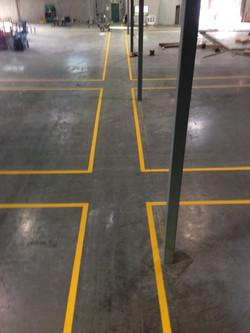 Warehouse Line Marking
