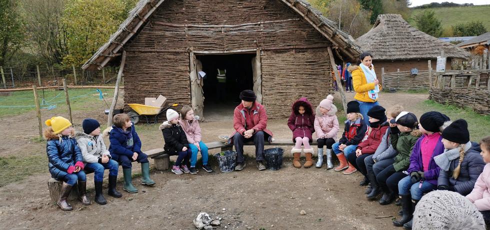 Southampton School Visits Butser Farm