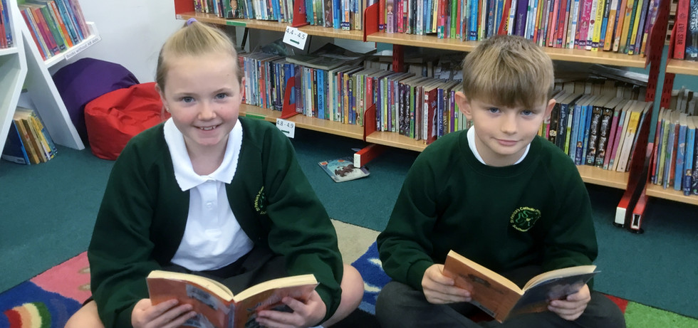 Southampton School children reading