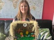 Isabel's Easter Garden