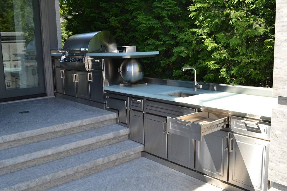 Custom Metal Barbeque Enclosure