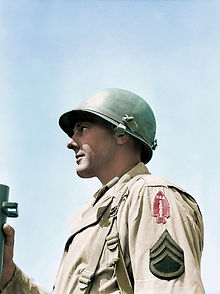 Unidentified sergeant of the 1st Special