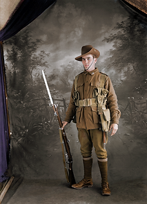 Australian Private Jack Gaghan (SN 2370)