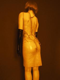 Nude kinbaku dress