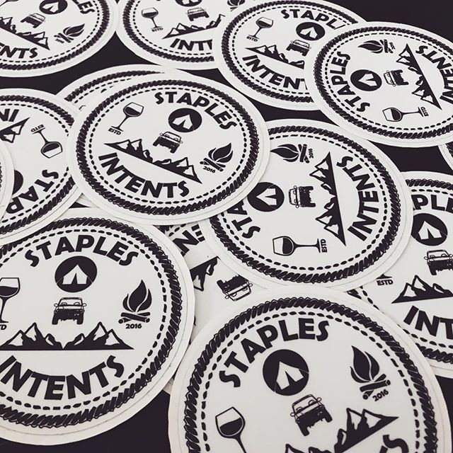 #staplesintents #swag is officially here