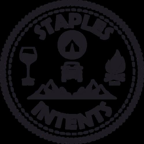 Staples InTents - Original Logo Sticker
