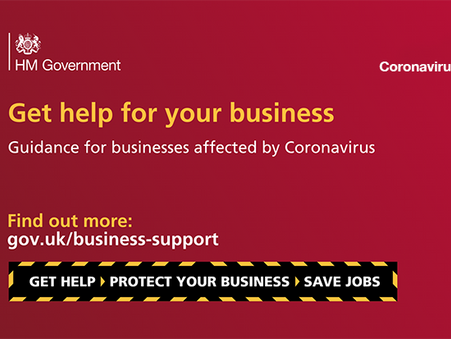 COVID 19 - Government business support