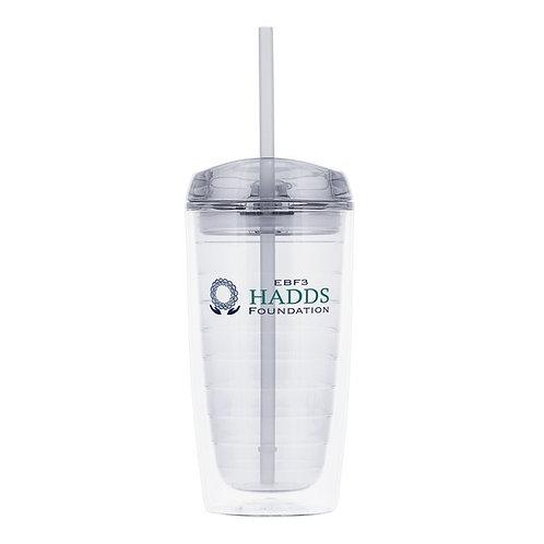 16 oz Clear HADDS Foundation Tumbler
