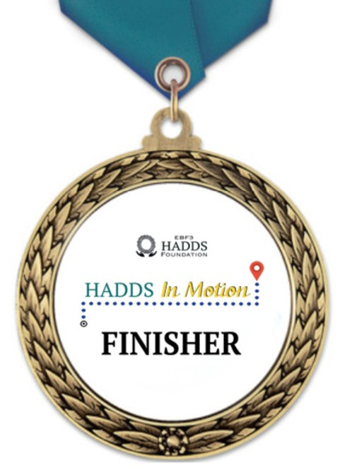 HADDS In Motion Finisher Medal