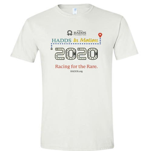 2020 HADDS In Motion Race T-shirt