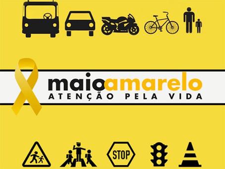 Maio amarelo: como fazer sua parte para um trânsito responsável.