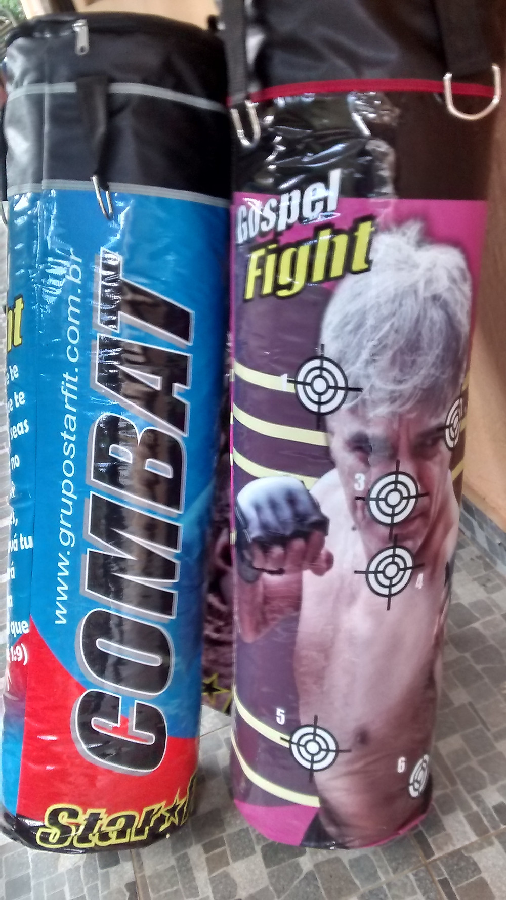 saco de boxe e muay thai personalizado