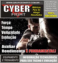 saco de pancada com sensor cyber fight personal trainning lutas